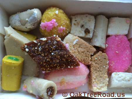 Anmol Sweets Assorted Sweets Edison © OakTreeRoad.us