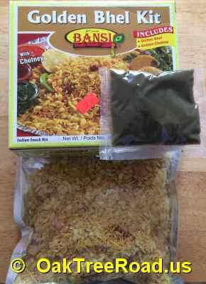 Bansi Golden Bhel Inside the Box image © OaktreeRoad.us