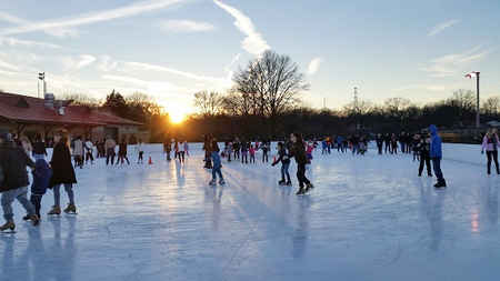 Edison Outdoor Ice Skating Rink Picture Courtesy - Middlesex County, NJ