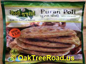 Frozen Puran Poli image © OaktreeRoad.us