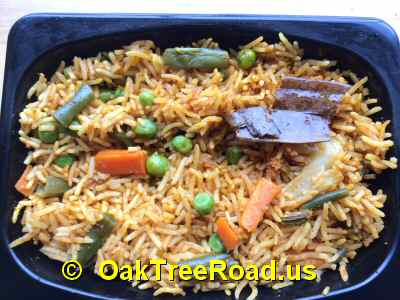 hyderabad Bawarchi biryani Oak Tree Rd Iselin