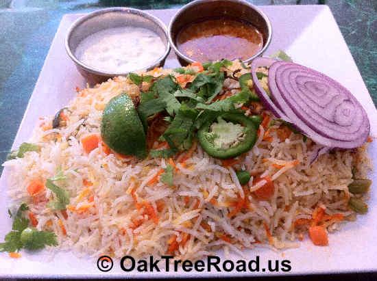 Hyderabad Dum Biryani image © OakTreeroad.us