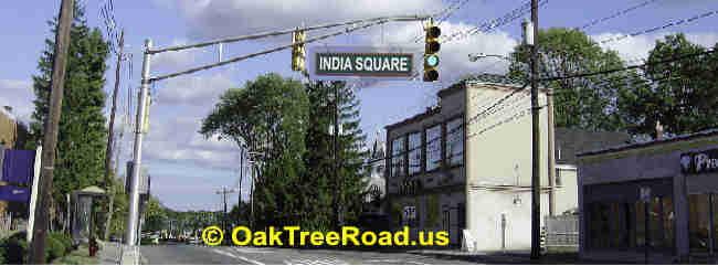 India Square Oak Tree Road image © OakTreeroad.us