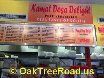 T Dosa Delight Oak Tree Road Iselin Divine Gongura Swagath Edison Indian Restaurant