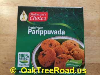 Maharani Choice Parippuvada image © OaktreeRoad.us