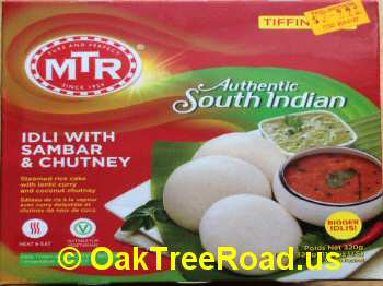 MTR Idli Sambar, Chutney image © OaktreeRoad.us