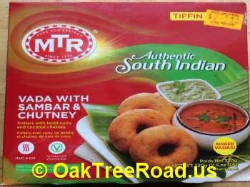 MTR Vada Sambar, Chutney image © OaktreeRoad.us