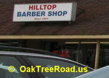 Barber Shop Oak Tree Road image © OakTreeroad.us