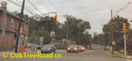 Intersection of Oak Tree Road & Middlesex Ave image © OakTreeRoad.us