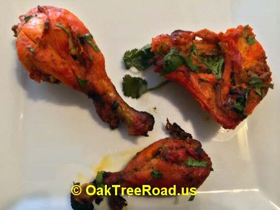 Tandoori Chicken image © OakTreeRoad.us