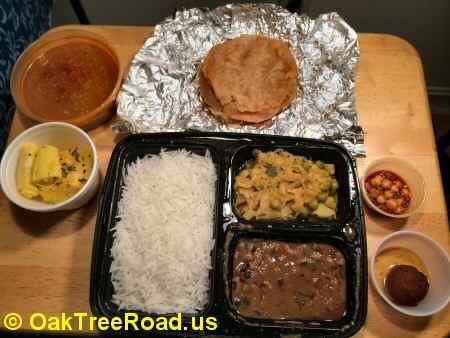 Pakvaan Gujarati Thali image © OakTreeRoad.us