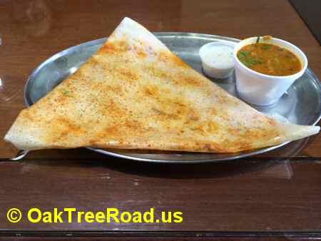 Pakvaan Mysore Masala Dosa image © OakTreeRoad.us