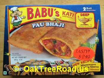 Pau Bhaji Kati Sandwiches image © OaktreeRoad.us