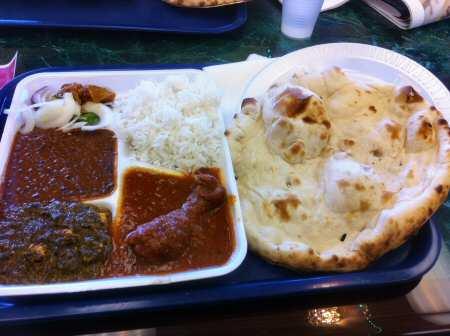punjabi express non-veg thali iselin © OakTreeRoad.us