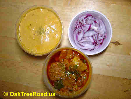 Punjabi Kitchen Edison Entrees image © OakTreeRoad.us