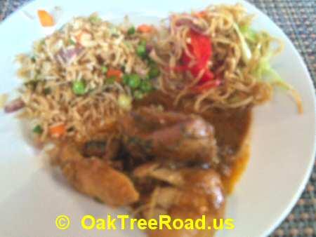 Red Chutney Iselin Noodles, Fried Rice, Chicken image © OakTreeRoad.us