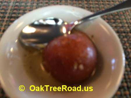 Red Chutney Iselin Gulab Jamun image © OakTreeRoad.us