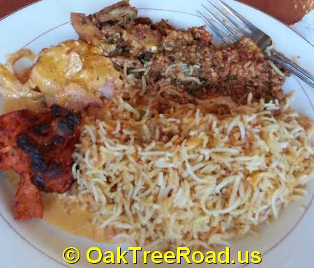 Shalimar Grill Chicken Biryani Oak Tree Road Iselin New Jersey