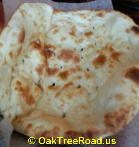 Shalimar Grill Naan Bread Oak Tree Road Iselin New Jersey