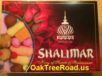 Shalimar Iselin Assorted Sweets © OakTreeRoad.us