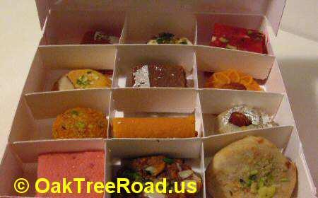 Sukhadia Oak Tree Road Sweets image © OakTreeRoad.us