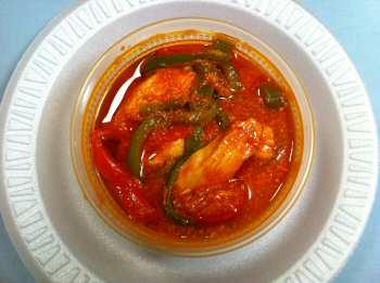 chilli chicken with gravy