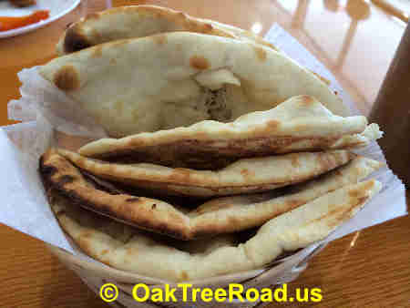 Tabaq Edison Naan Bread image © OakTreeRoad.us