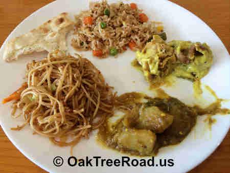 Tabaq Edison Vegetable Fried Rice image © OakTreeRoad.us
