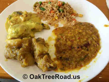 Tabaq Edison Vegetarian Entrees image © OakTreeRoad.us
