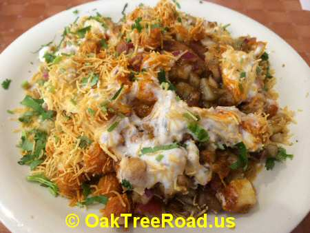 Talk of the Town Samosa Chaat iselin © OakTreeRoad.us