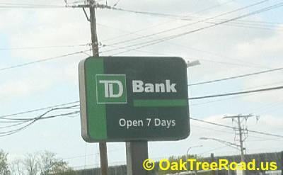 TD Bank on Oak Tree Road Robbed image © OakTreeroad.us