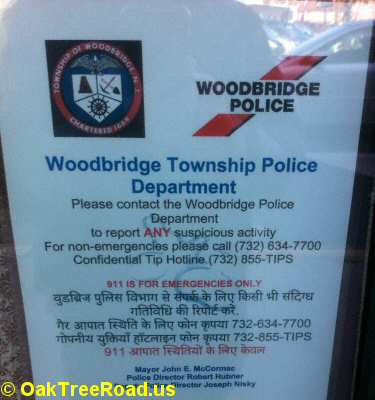 How to Contact Woodbridge Police Department image © OakTreeRoad.us